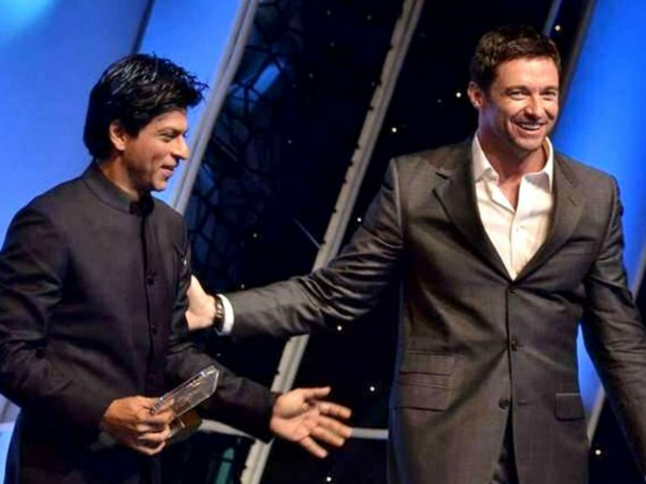 SRK and Hugh Jackman
