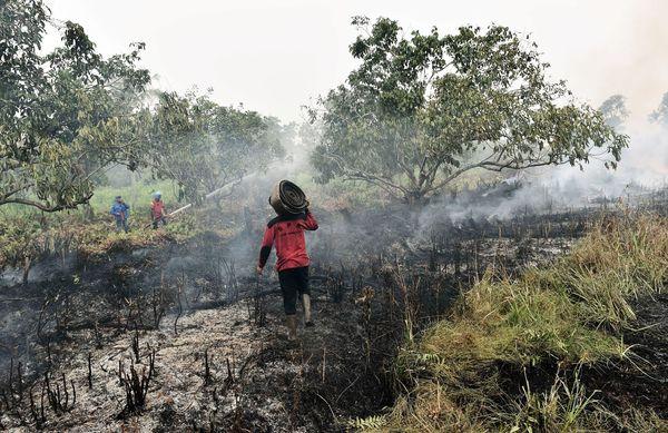 indonesia fire blaze