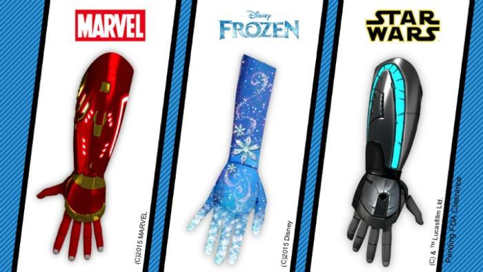 Disney prosthetics