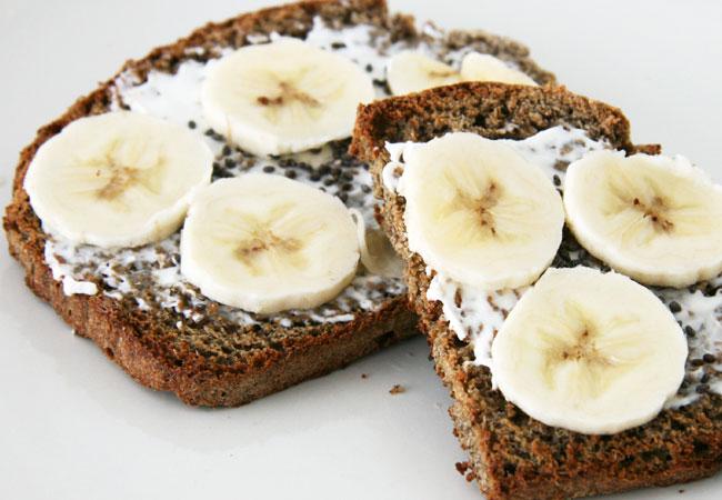 Banana & Almond Butter Toast