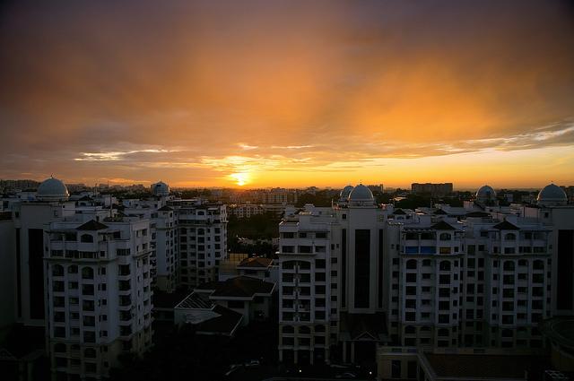 Bangalore sunrise