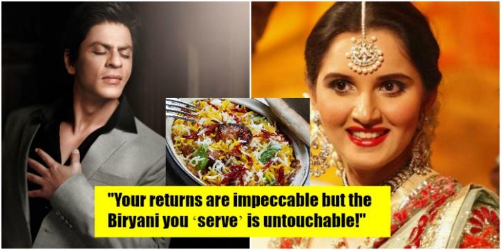 SRK Sania and Biryani