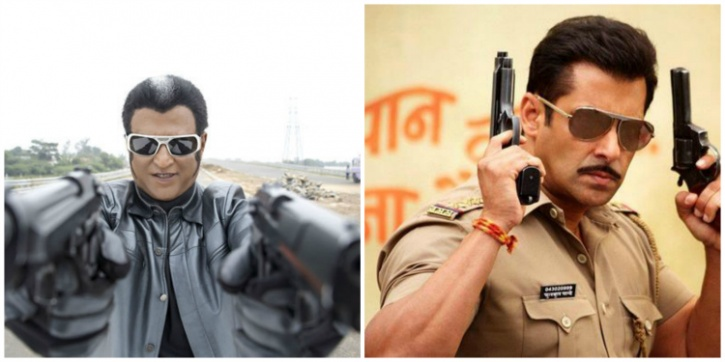 Salman and Rajinikanth