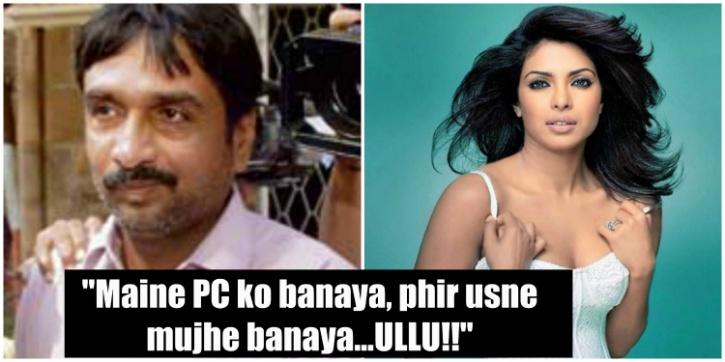 Priyanka Chopra and Prakash Jaju