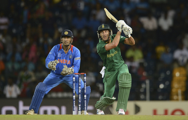 MS Dhoni and Du Plessis