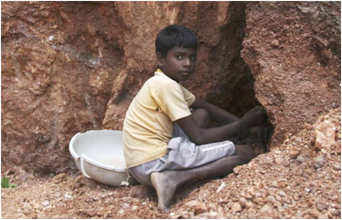 Next Time You Put On Makeup, Remember The Starving Little Children Who Put The Sparkle In It