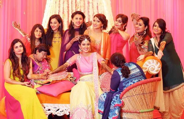 Geeta Basra with her girl gang