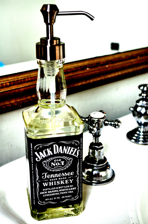 Jack Daniesl soap dispenser