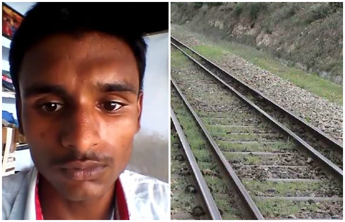 15 YO Jumps In Front Of Train Because He Couldn
