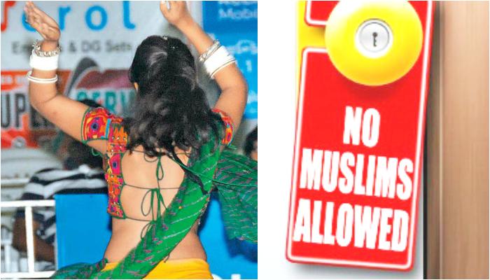 love jihad scare no muslims for garba