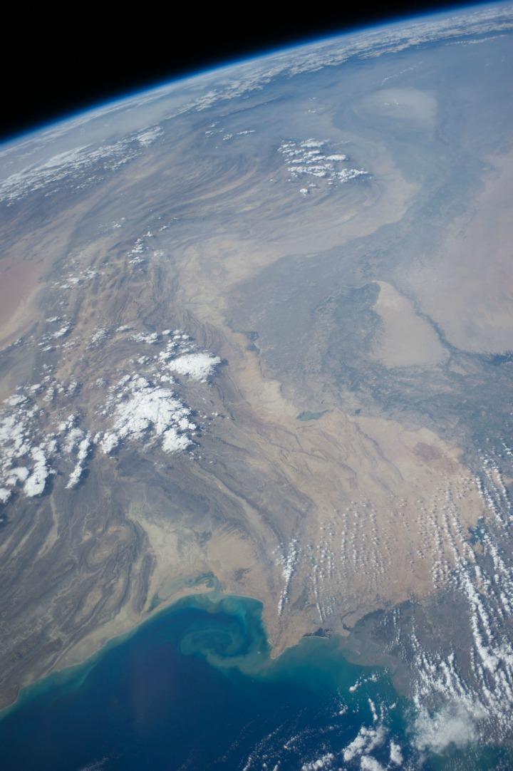 NASA Shares Picture Of India Pakistan Border