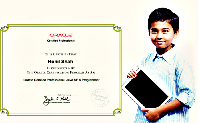 It Takes Adults Around 3 Hours To Clear This Java Exam, But This 10 YO Aced It In 18 Minutes