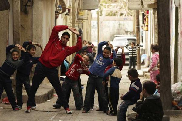 Athlete in Palestine