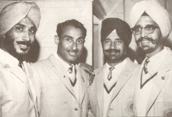 Prithipal (first from left)