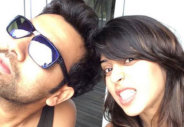 Rohit with Ritika