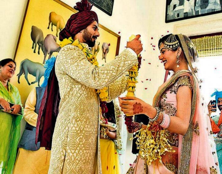 Shahid Kapoor and Mira Rajput