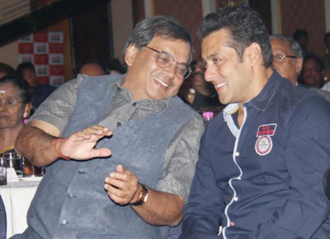 Salman Khan and Subhash Ghai