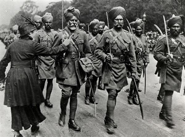 sikh soldiers world war