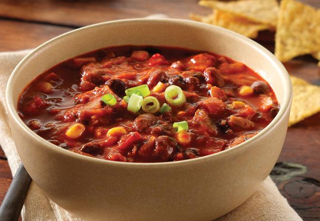 Spicy Southwestern Black Bean Chili