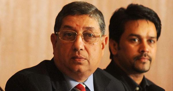 Srinivasan and Anurag Thakur