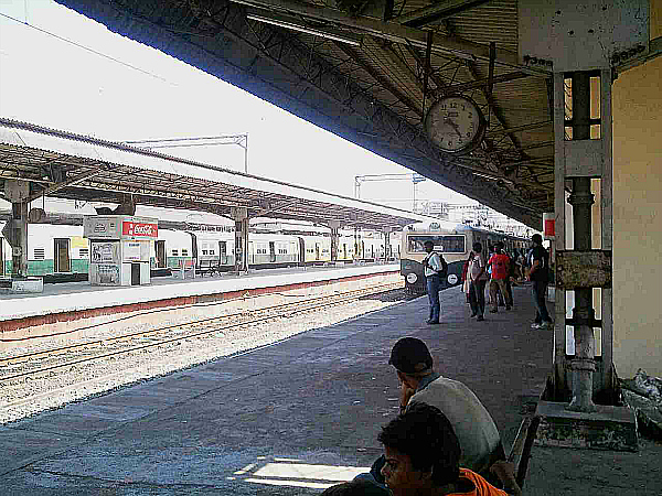 india train clock