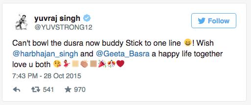 Harbhajan Singh Married Geeta Basra