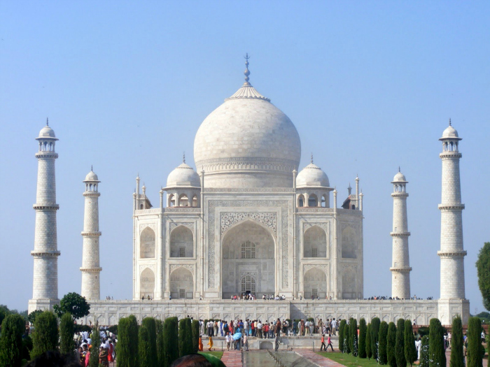 Soon You Will Be Able To Walk To The Taj Mahal From Agra Fort Via A Skywalk