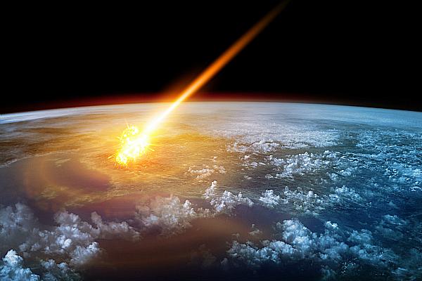 space crash earth