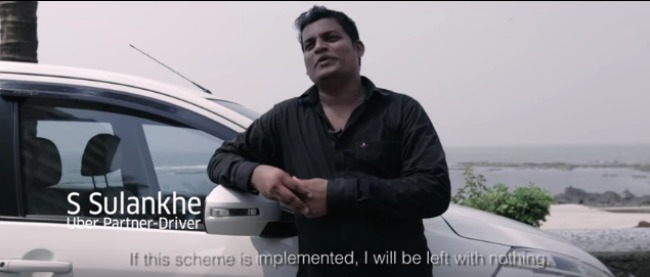 Uber and other taxi based aggregators are fighting against maha govt