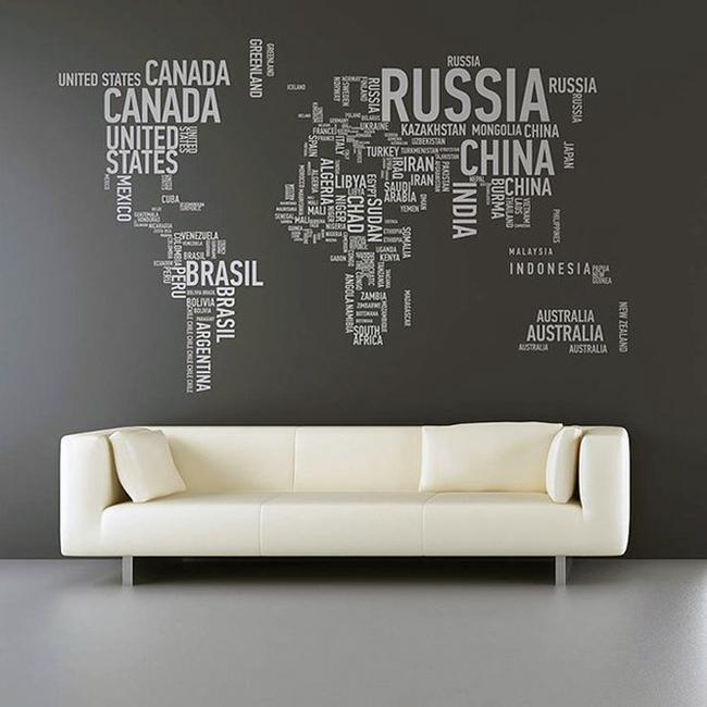 Travel wall art