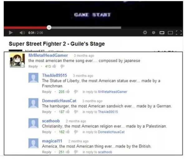 YouTube Comments