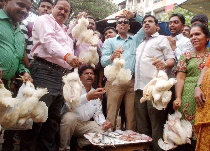 Meat Ban Protest