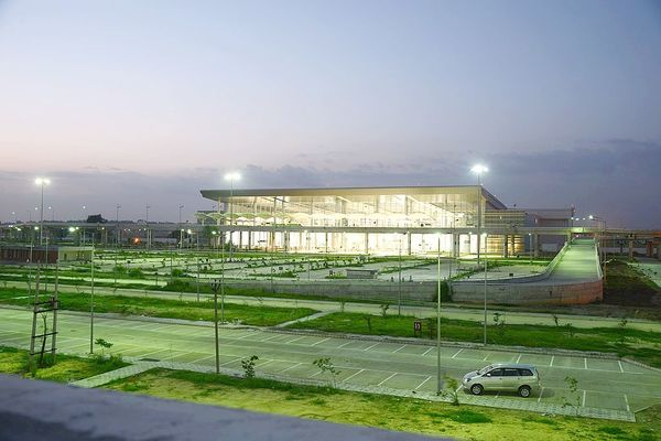 Chandigarh airport terminal new