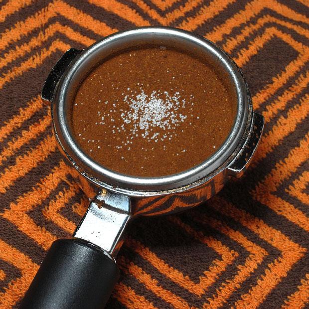 coffee with salt