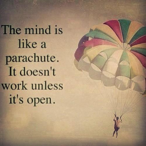 Ope parachute