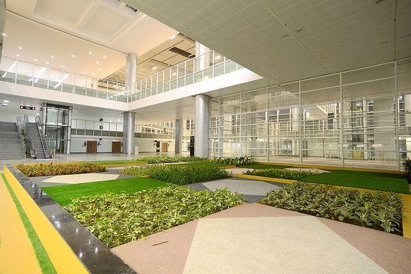 Chandigarh airport terminal