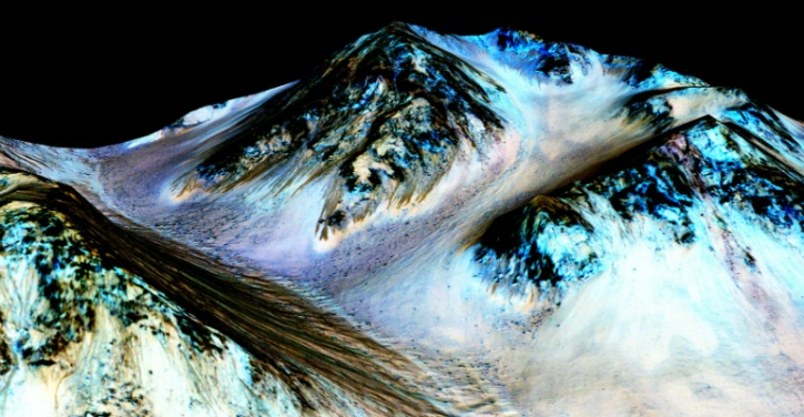 Water flow on Mars