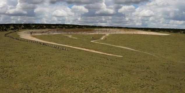 superhenge stones, prehistoric megalith site