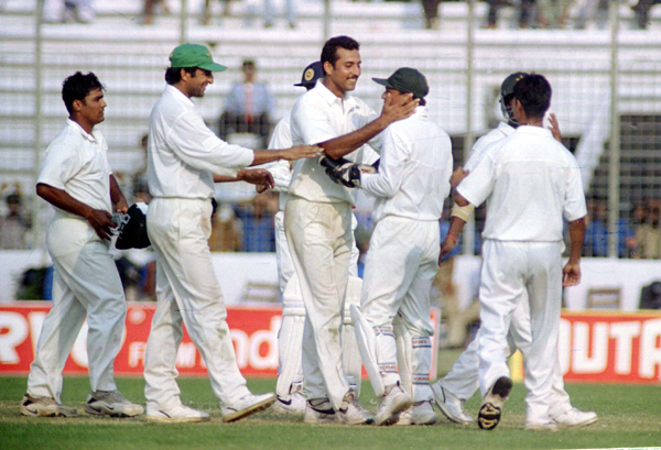 Arshad Khan in Asian Test championship final vs Sri Lanka
