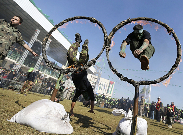 A boot camp in Gaza (image for representational purpose only)