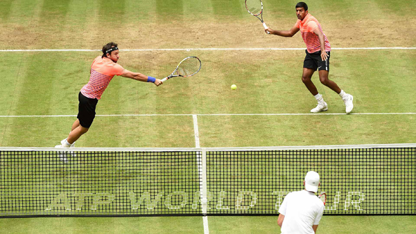 Bopanna and Mergea in action