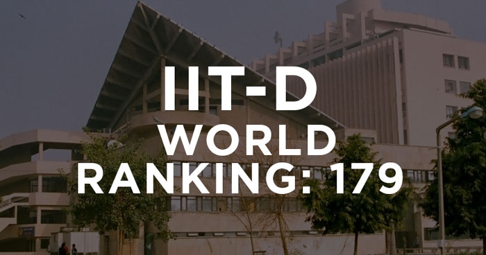iit dELHI IS WORLD
