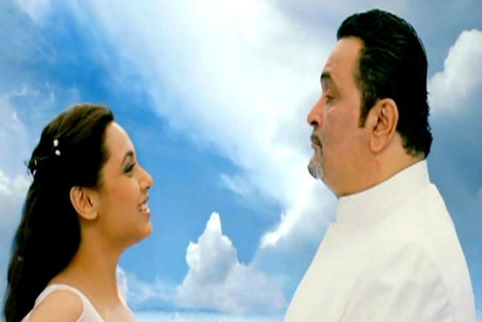 Rishi Kapoor and Rani Mukerji
