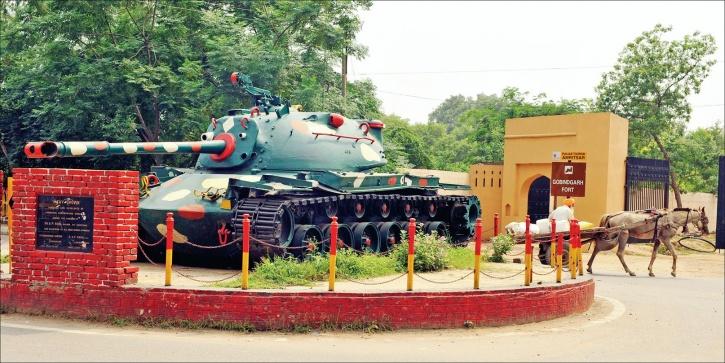 m 48 Patton Tank of Pakistan Army