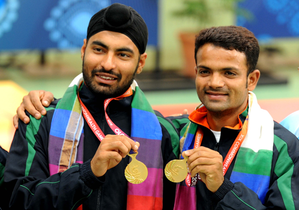 Gurpreet Singh with Vijay Kumar