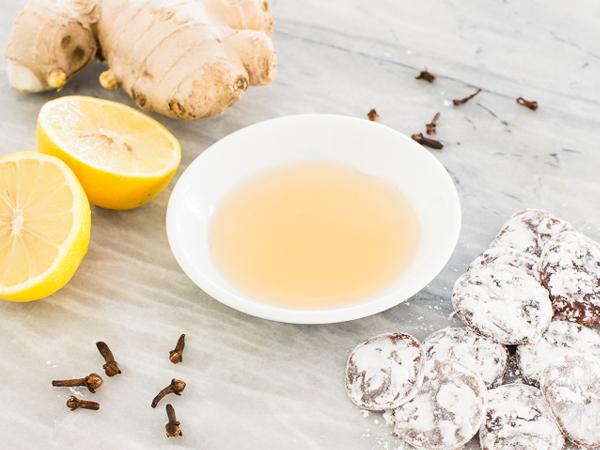 Herbal Lemon And Ginger Cough Drops