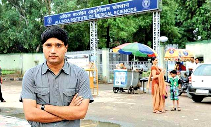 IFS officer Sanjiv chaturvedi Magsaysay Award Winner Donates Entire Prize Money For Treatment Of Poor Patients At AIIMS