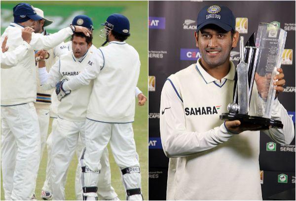 India vs New Zealand in 2008-09