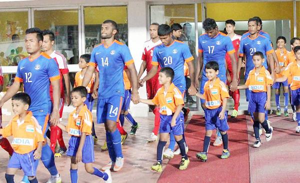 India vs Nepal football