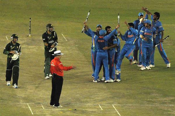 India vs Pakistan 2011 WC semifinal